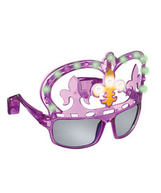 Mardi Gras Light-Up Glasses UV 400