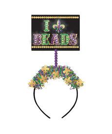 Mardi Gras Light-Up Headband