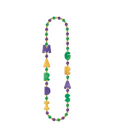 Mardi Gras Giant Beads Necklace