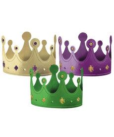 Mardi Gras Crowns (12pk.)