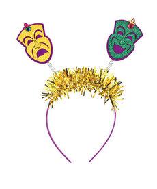 Mardi Gras Head Bopper: Comedy/Tragedy Masks
