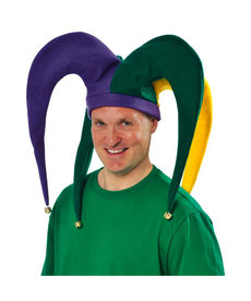 Amscan Giant Jester Hat with Bells