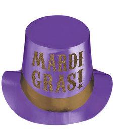 Mardi Gras Paper Top Hat