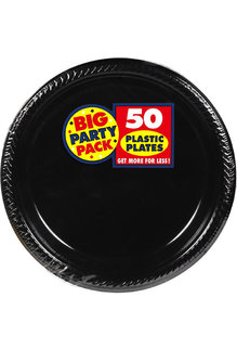 "10"" Plate - Black (50ct.)"