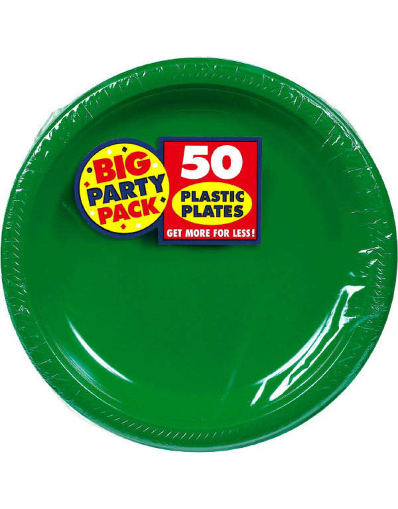 """10"""" Plate - Green (50ct.)"""