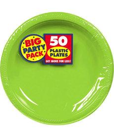 """10"""" Plate - Kiwi Green (50ct.)"""