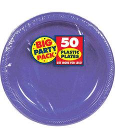 "10"" Plate - Purple (50ct)"