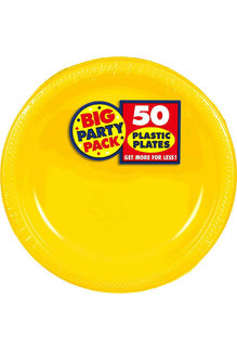 "10"" Plate - Yellow (50ct.)"