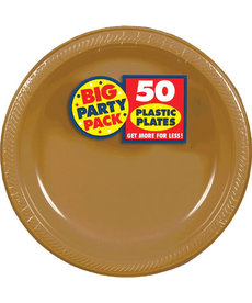 """7"""" Plate - Gold (50ct.)"""