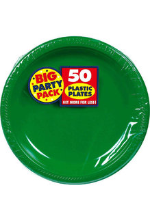 """7"""" Plate - Green (50ct.)"""