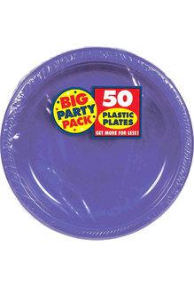 "7"" Plate - Purple (50ct.)"