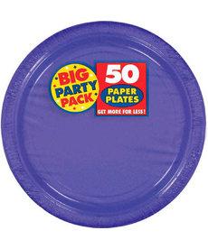 "7"" Paper Plates - Purple (50ct.)"