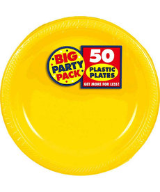 "7"" Plate - Yellow (50ct.)"