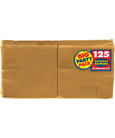 Beverage Napkins - Gold (125ct.)