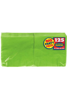 Beverage Napkins - Kiwi Green (125ct.)