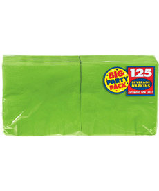 Beverage Napkins - Kiwi Green (125ct.)