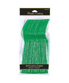 Forks - Green (20ct.)
