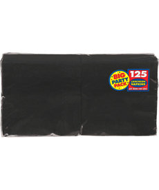 Luncheon Napkins - Black (125ct.)