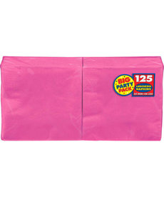 Luncheon Napkins - Bright Pink (125ct.)