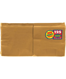 Luncheon Napkins - Gold (125ct.)