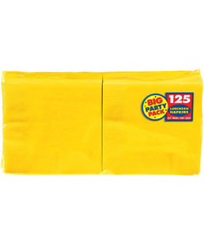 Luncheon Napkins - Yellow (125ct.)