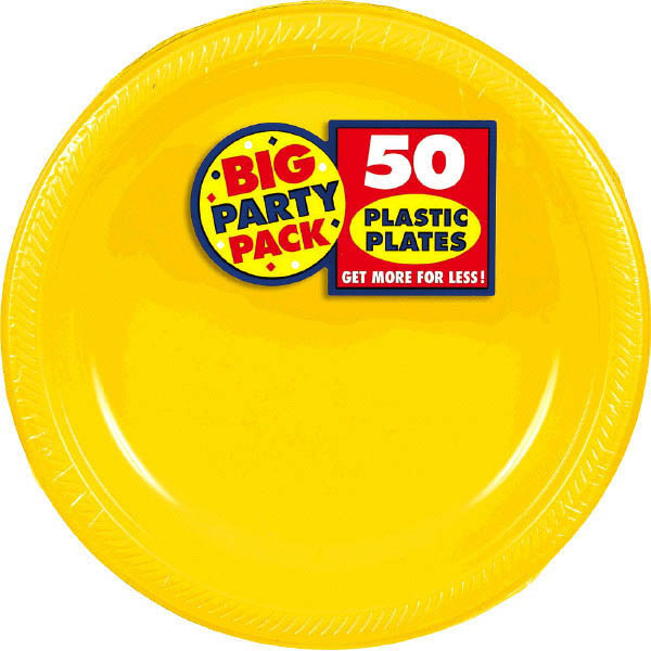 Solid Yellow Party Supplies & Tableware