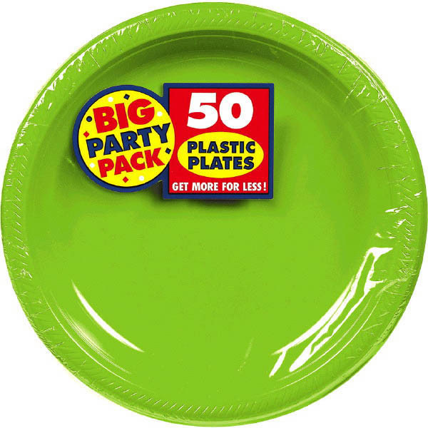 Solid Kiwi Green Party Supplies & Accessories