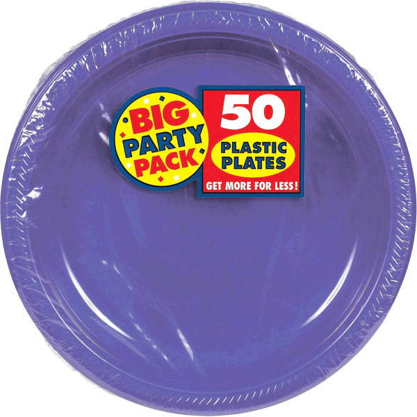 Solid Purple Party Supplies & Tableware