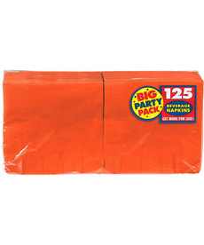 Beverage Napkins - Orange (125ct.)