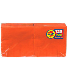 Luncheon Napkins - Orange (125ct.)