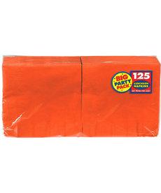 Luncheon Napkins - Orange (125ct.)