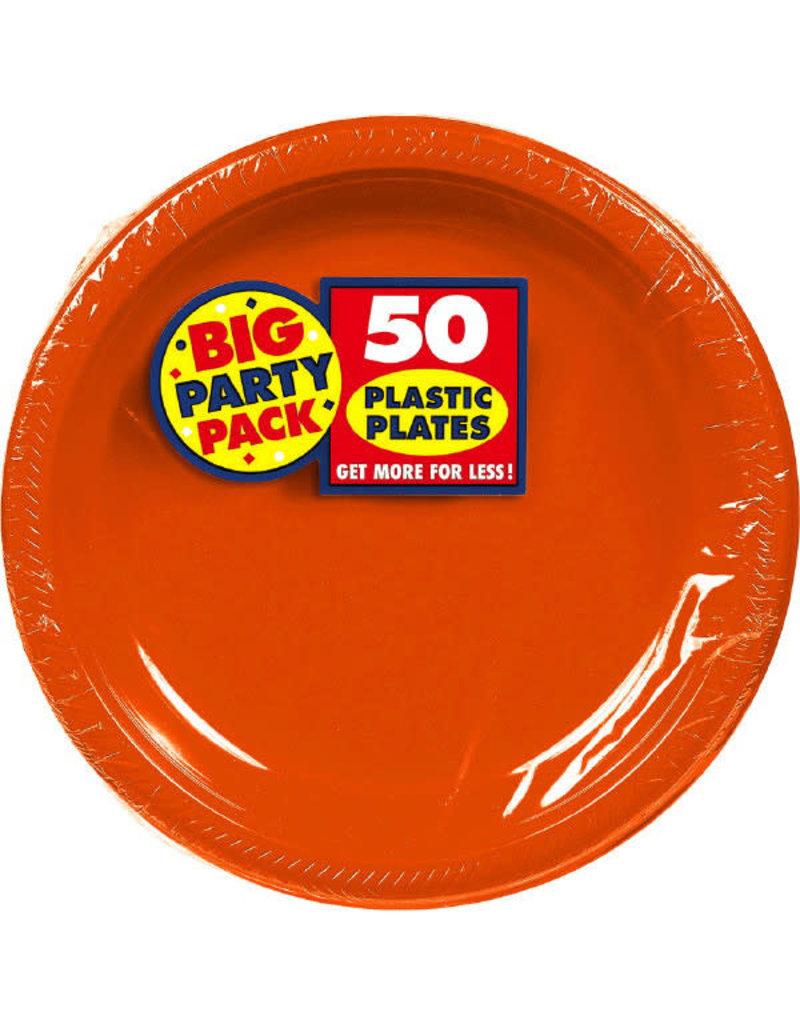 "7"" Plate - Orange (50ct.)"