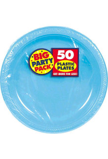 "10"" Plate - Caribbean Blue (50ct.)"
