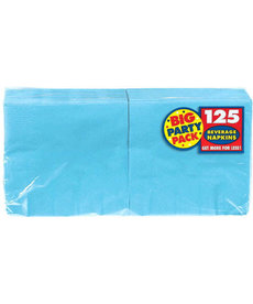 Beverage Napkins - Caribbean Blue (125ct.)