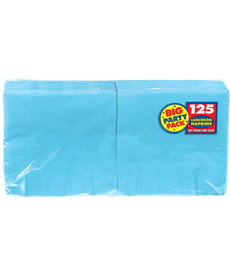 Luncheon Napkins - Caribbean Blue (125ct.)