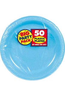 "7"" Plate - Caribbean Blue (50ct.)"