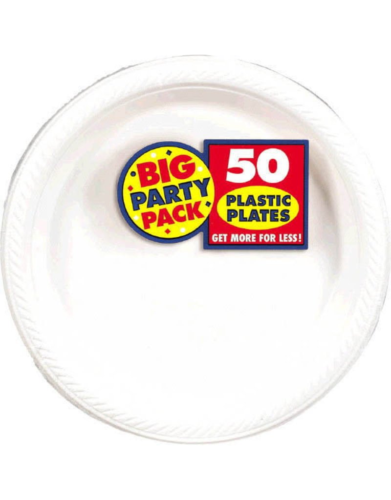 "7"" Plate - White (50ct.)"
