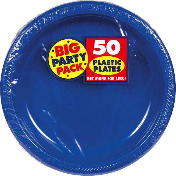 Solid Royal Blue Party Supplies & Tableware