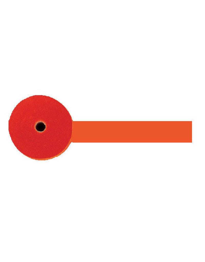 81' Crepe Streamer Roll: Orange Peel