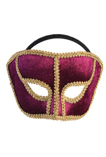 Carnival Style Half Mask