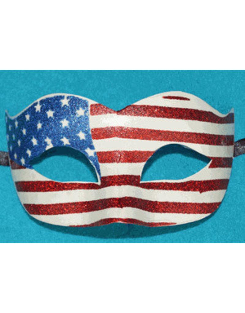 American Flag Eye Mask