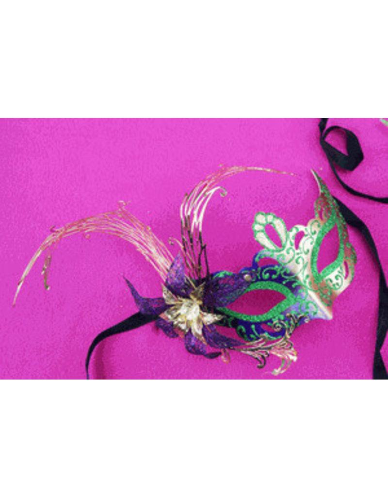 Cajun Elite Mardi Gras Mask