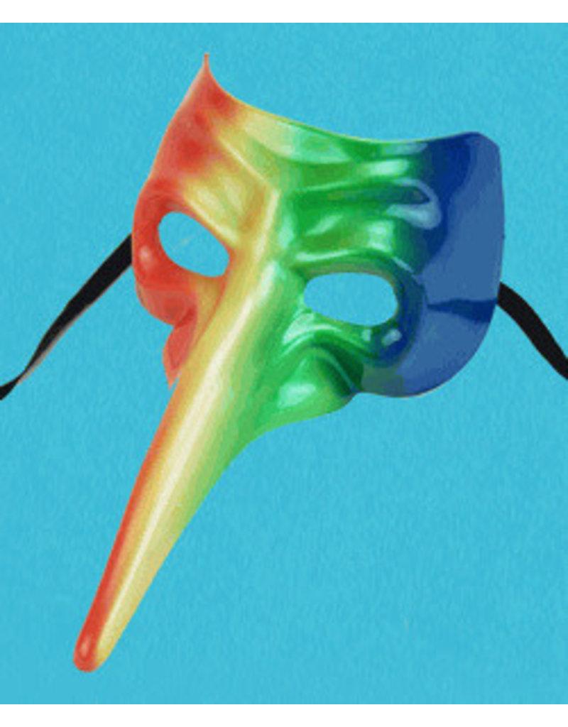 Rainbow Casanova Mask