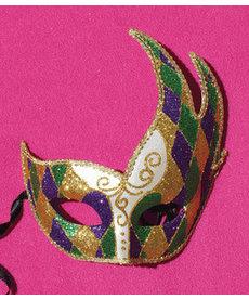 Diamond Mardi Gras Mask