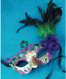 Forshey Feather Mask
