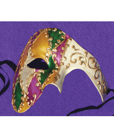 Lepic Morue Mardi Gras Mask