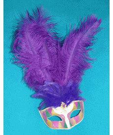Mardi Gras Citron Eye Mask