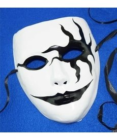 The Painted Kiss Mask