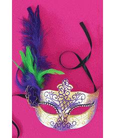 Treme Mardi Gras Eye Mask