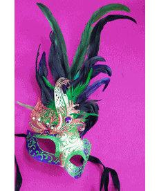 Ultimate Bayou Mardi Gras Eye Mask